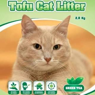 Podstielka TOFU zelený čaj - 6l / 2,8kg