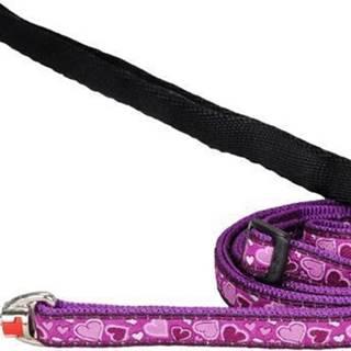 Vodítko RD Breezy Love Purple - 1,2cm/1,8m