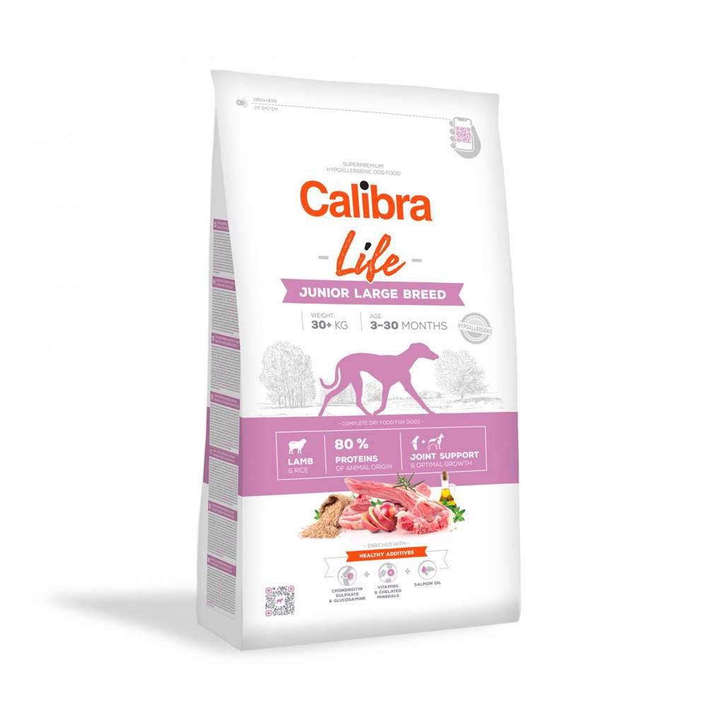 Calibra CALIBRA dog LIFE JUNIOR large LAMB - 2,5kg