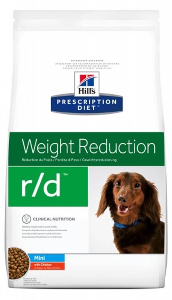 Hills Hills Canine r/d  MINI (dieta) - 1,5kg