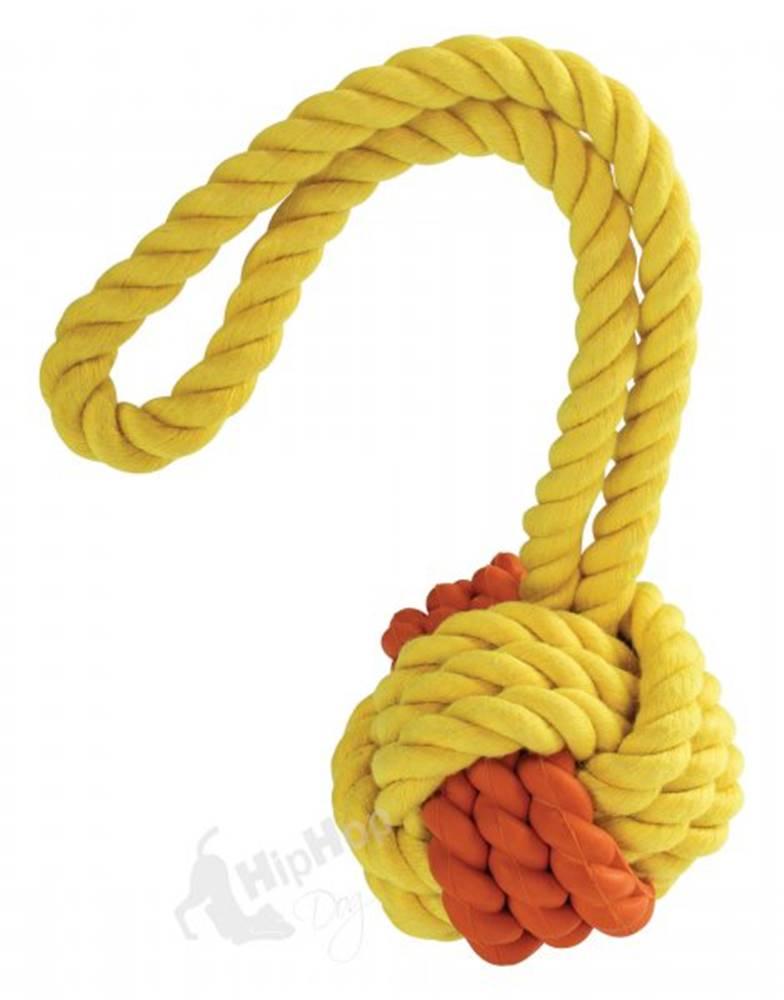 (bez zařazení) HRAČKA - HIPHOP kombinovaný loptu MONTY na šnúre - 24cm