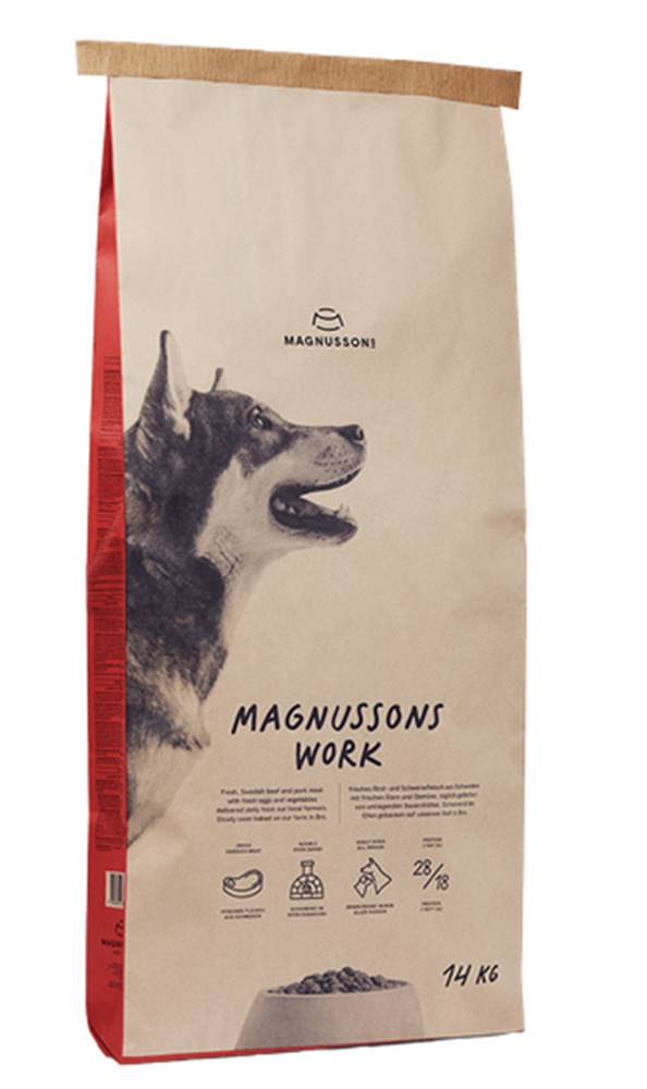 Magnusson MAGNUSSON Meat/Biscuit Work - 14kg