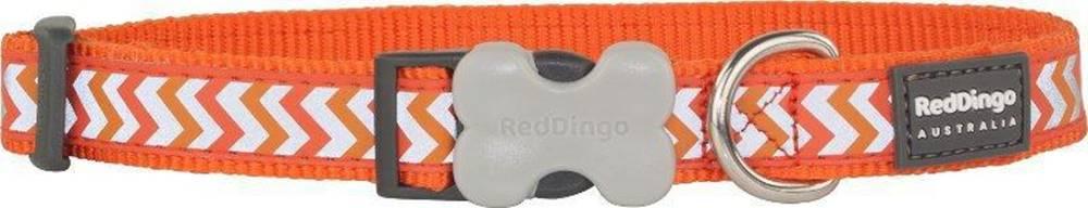 Red-dingo Obojek RD reflective ZIGGY/orange - 1,2/20-32cm