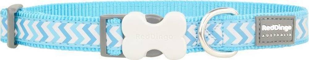 Red-dingo Obojek RD reflective ZIGGY/turquoise - 1,2/20-32cm