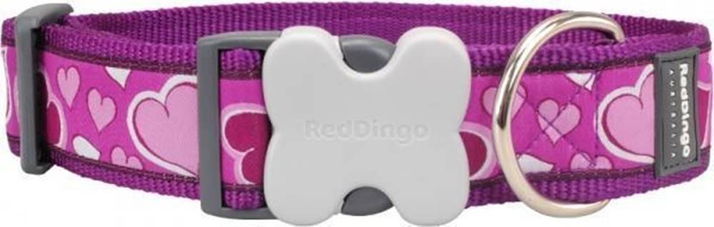 Red-dingo Obojok RD Breezy Love Purple - 1,2/20-32cm