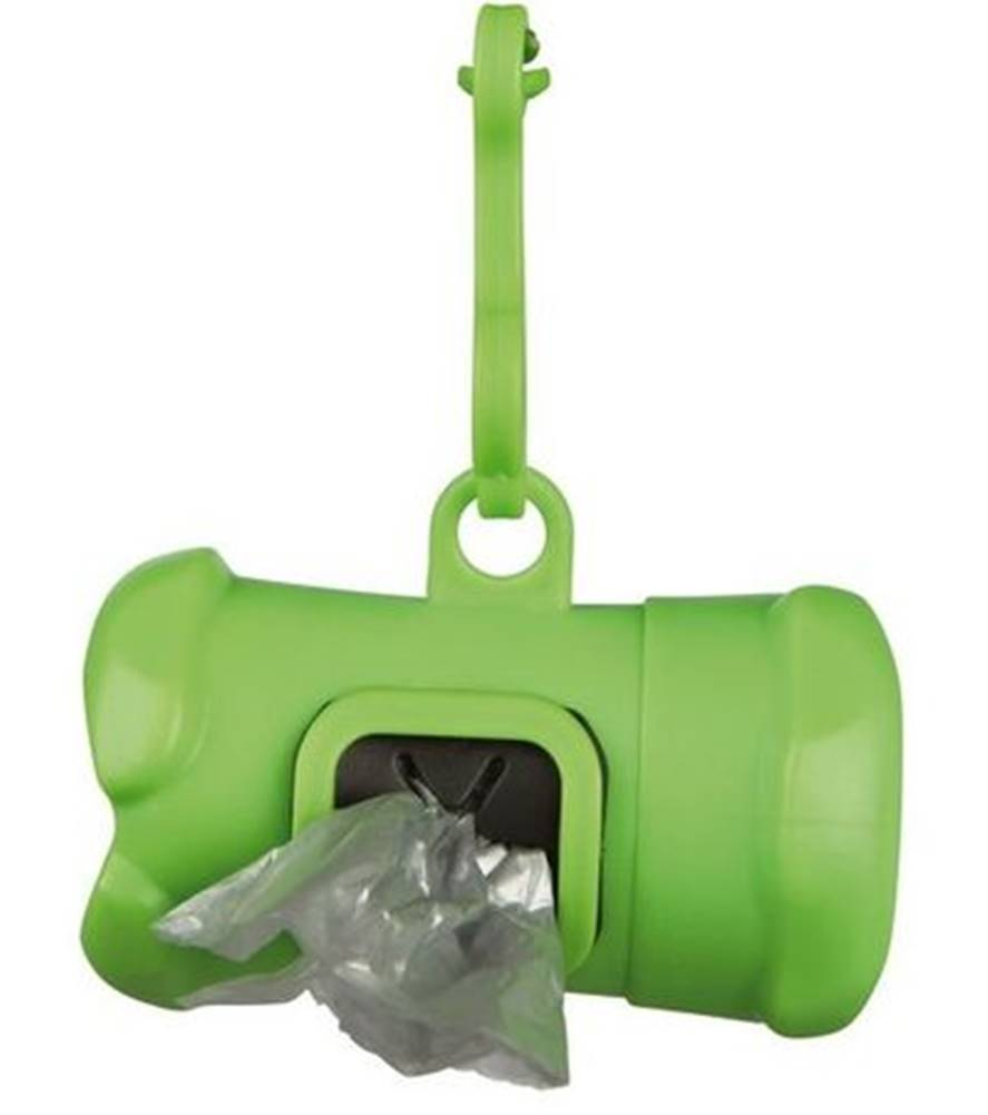 Trixie Plastový zásobník na sáčky Kosť - 1ks