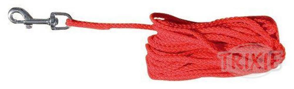 Trixie Predlžovací vodítko šnúra 5mm / 15m - červené