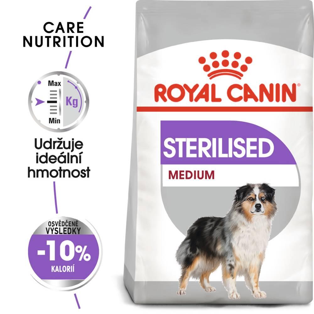 Royal Canin Royal Canin MEDIUM STERILISED - 3kg