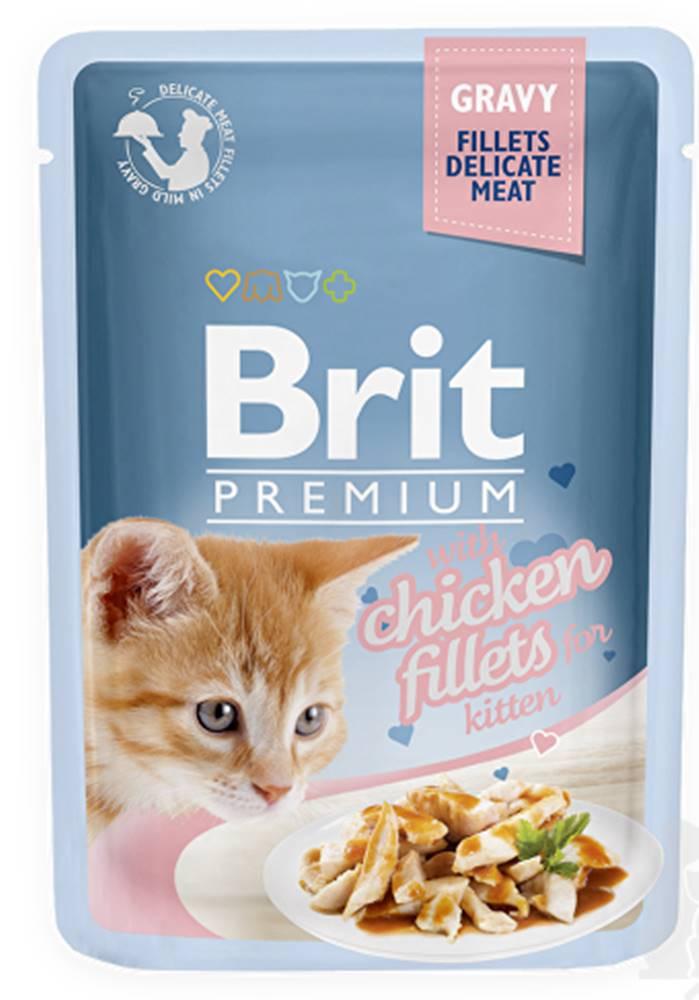 Brit Brit Premium Cat D Fillets in Gravy for Kitten 85g
