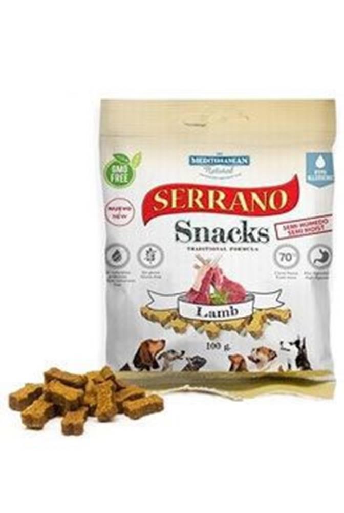 Ostatní Serrano Snack for Dog-Lamb 100g