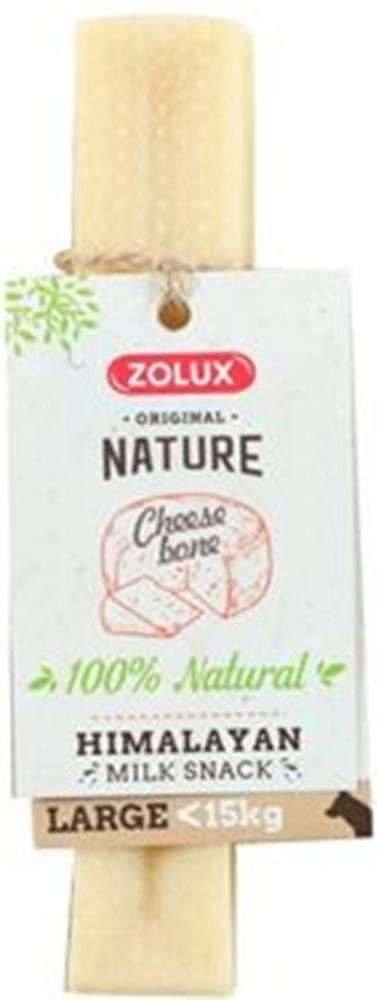 Zolux Pochúťka Cheese bone Large pre psa 10-15kg Zolux