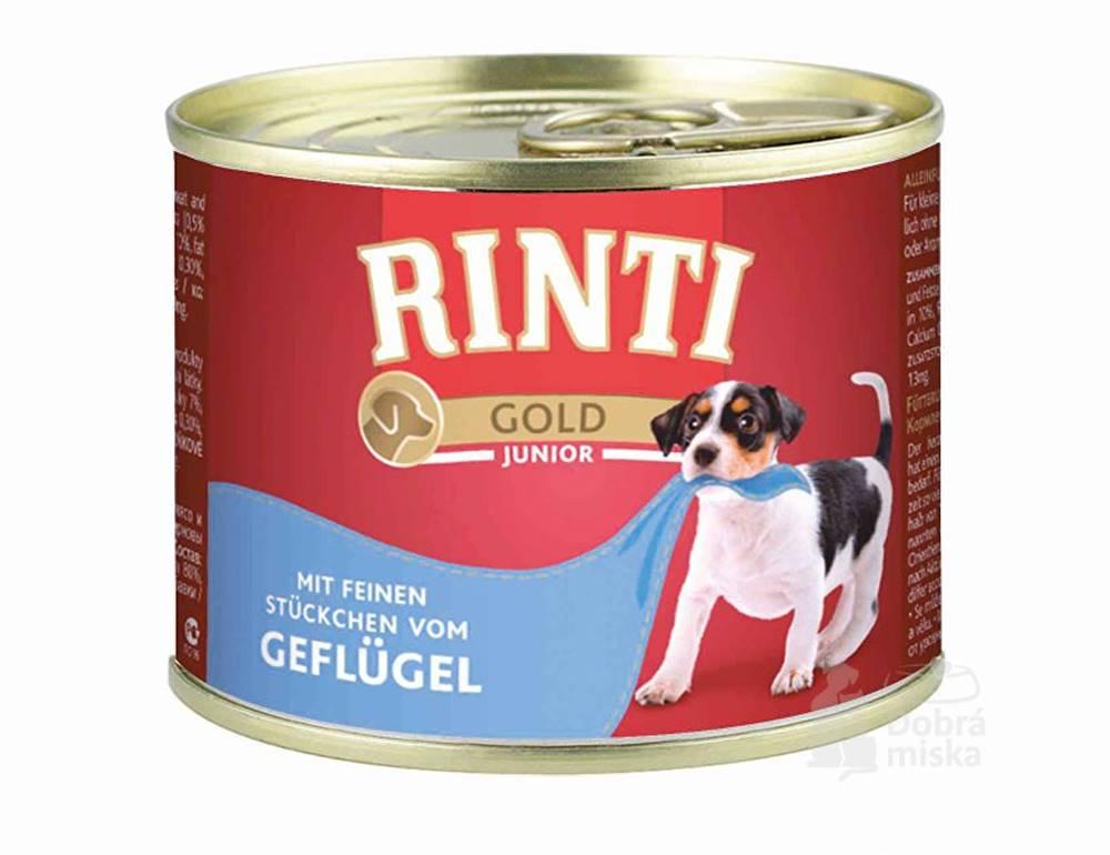 Rinti Rinti Gold Junior konzerva hydina 185g