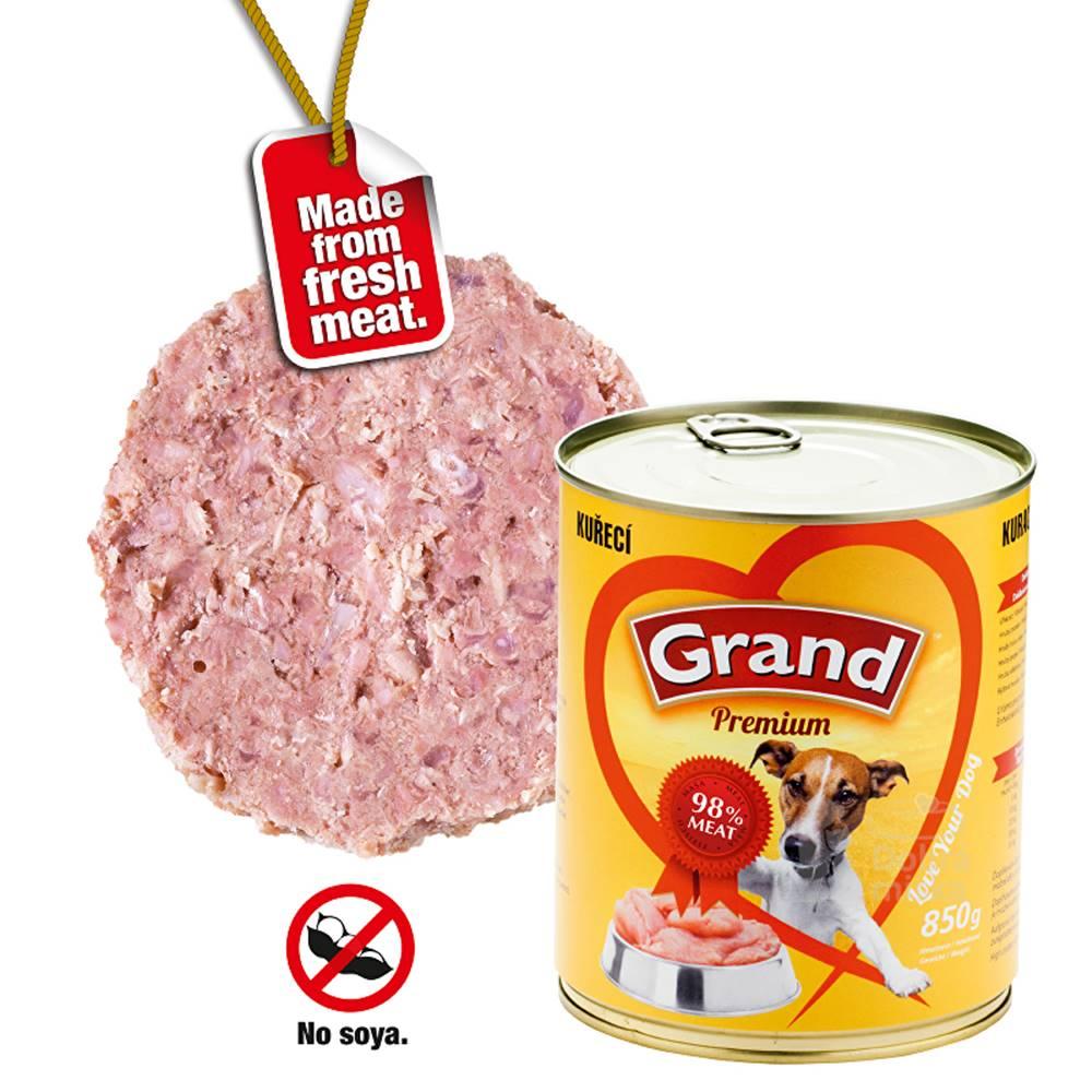 Grand GRAND konz. pes drůbeží 850g
