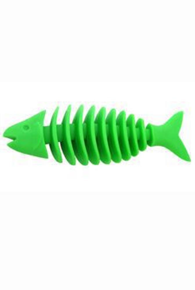 SUM-PLAST Hračka pes Rybka Dentální plovací velká 16 cm SP