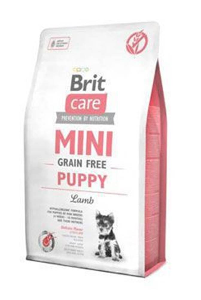 Brit Brit Care Dog Mini Grain Free Puppy Lamb 2kg
