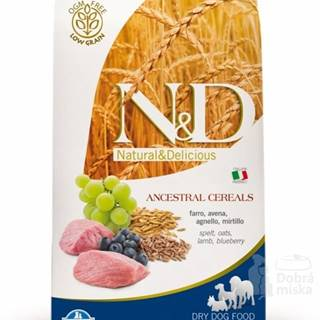 N&D LG DOG Puppy Mini Lamb & Blueberry 2,5kg