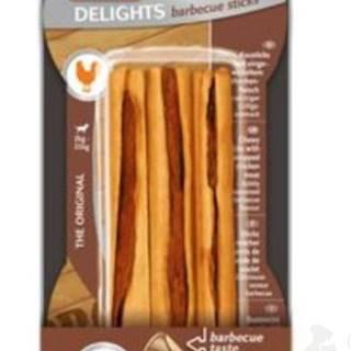 Tyčinky žuvacie Delights Barbecue 3ks