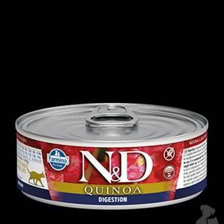 N&D GF CAT QUINOA Digestion Lamb & Fennel 80g