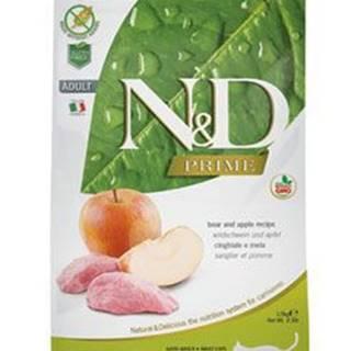 N&D PRIME CAT Adult Boar & Apple 1,5kg