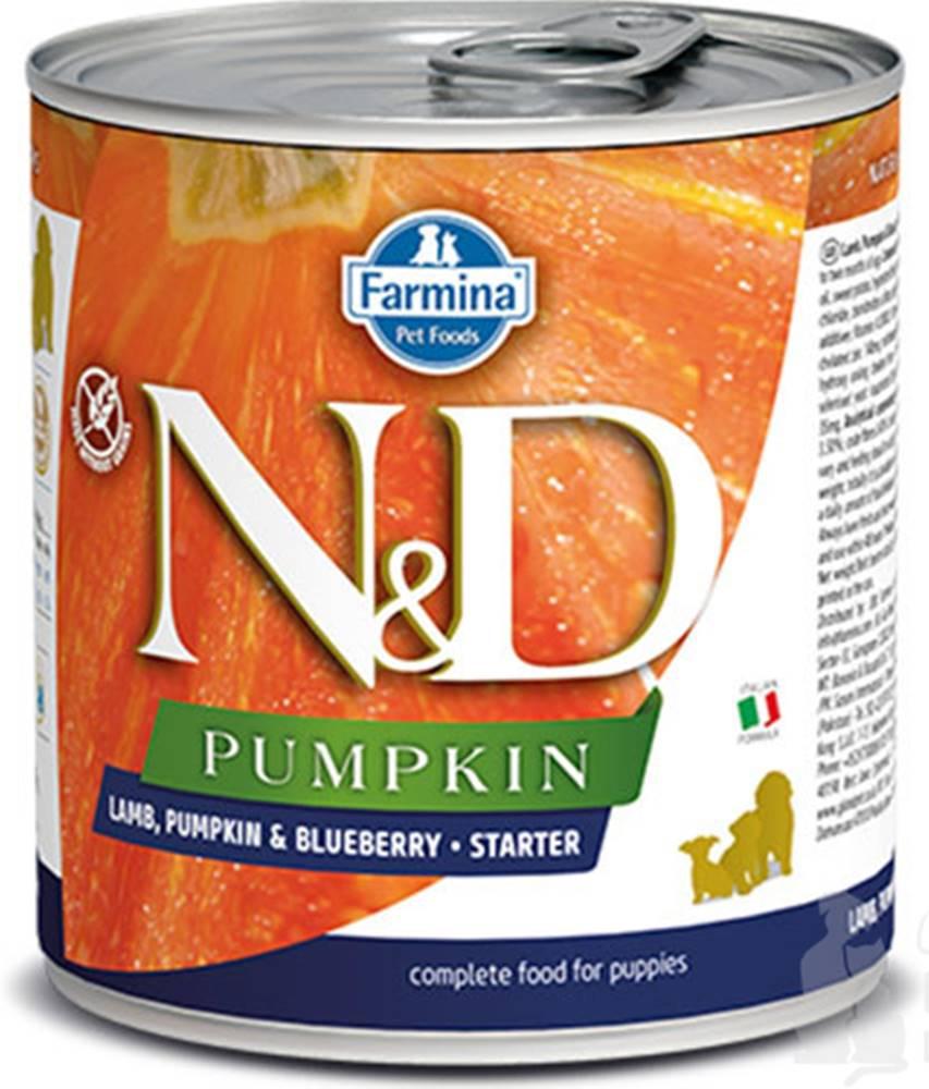 N&D (Farmina Pet Foods) N&D DOG PUMPKIN Starter Lamb & Blueberry 285g