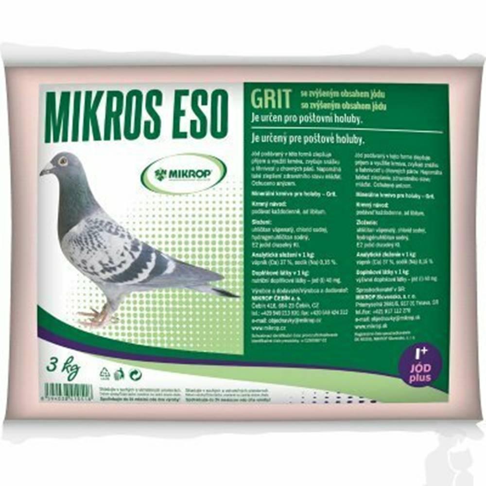 Mikrop ESO GRIT s jódom pre poštové holuby plv 3kg