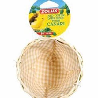 Hnízdo pro ptáky do klece proutěné 11cm Zolux