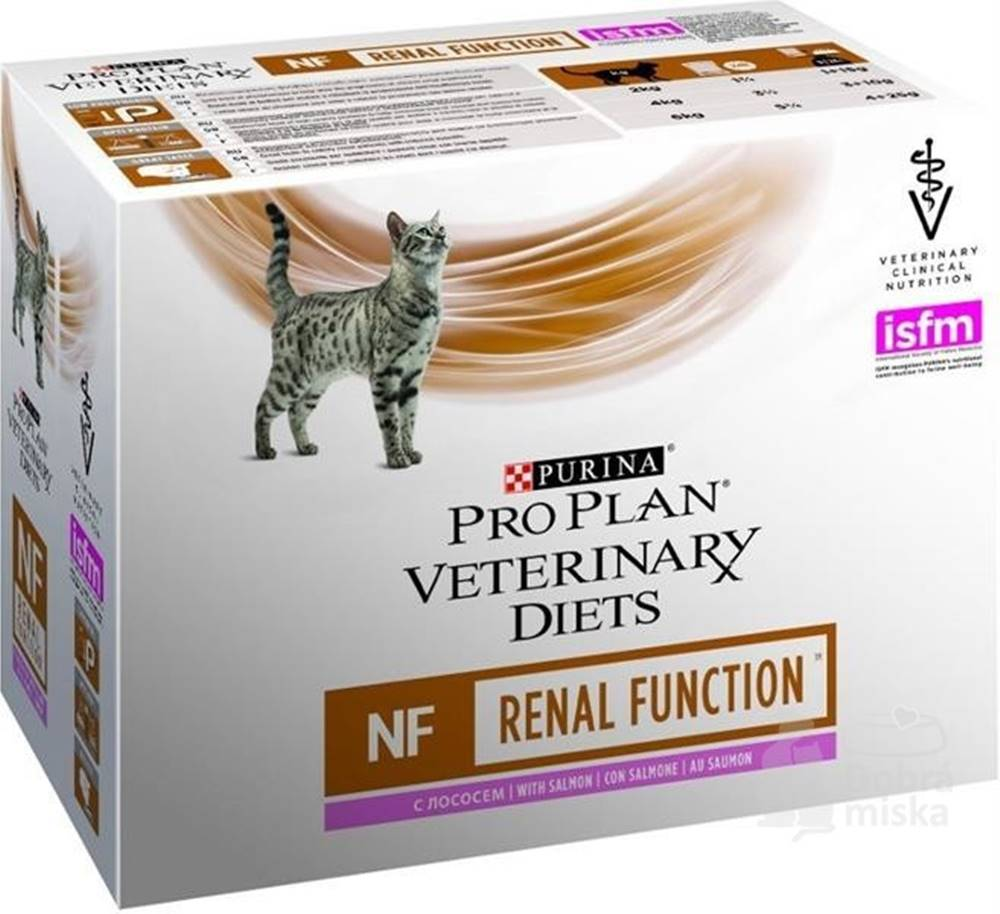 Purina Purina PPVD Feline  kaps. NF Renal Function salm10x85g