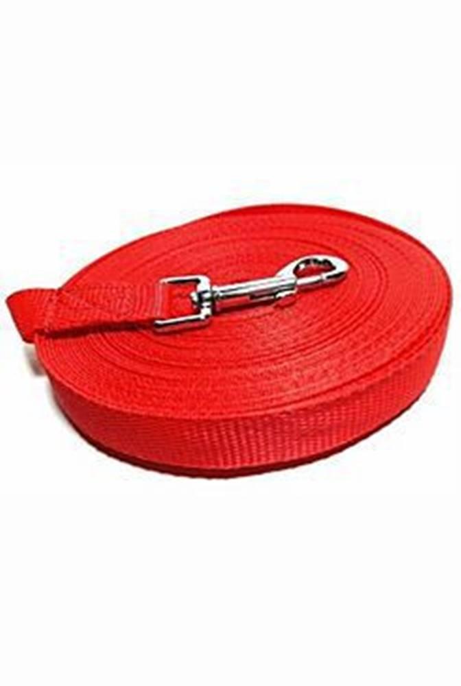 DINOFASHION Vodítko DINOFASHION stopovací ploché červené 10m/2cm