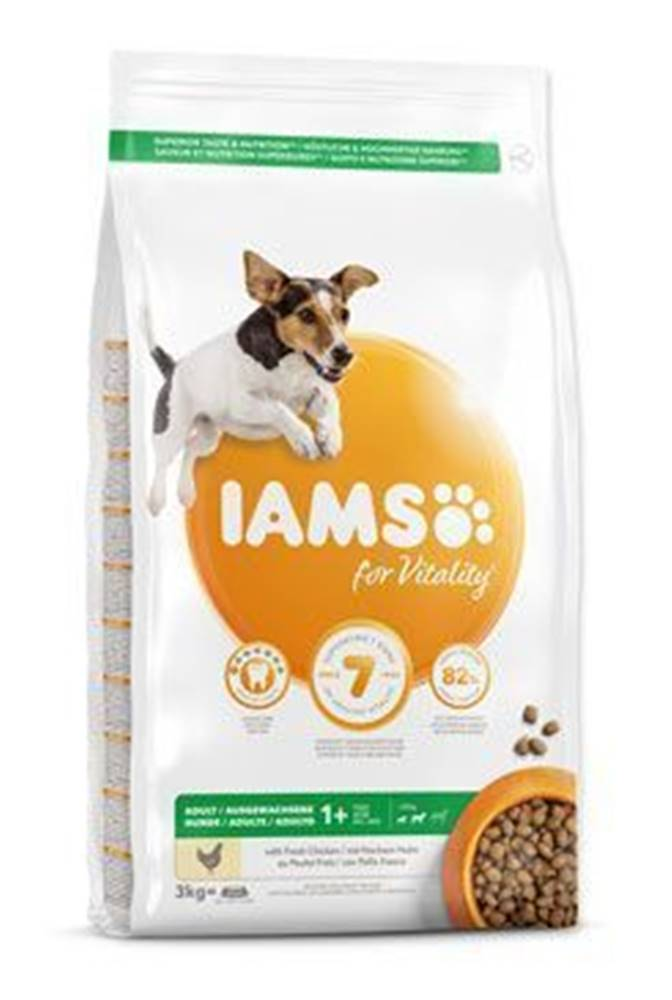 Iams Iams Dog Adult Small&Medium Chicken 3kg