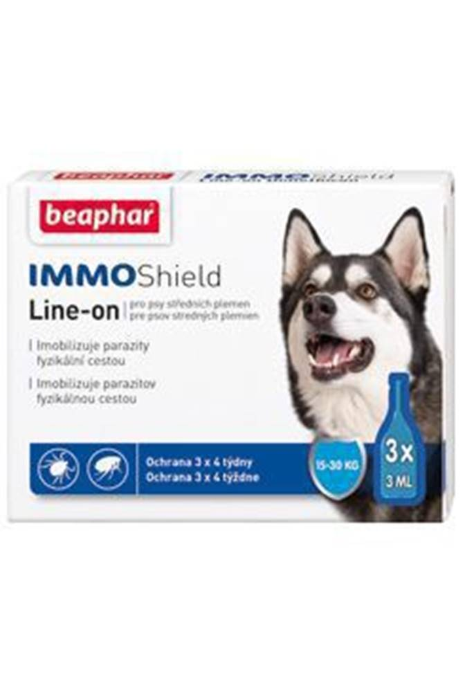 Beaphar Line-on IMMO Shield pes M 3x3ml