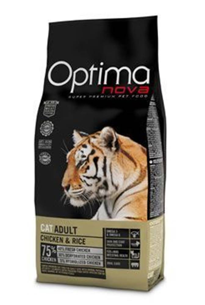 Optima Nova Optima Nova Cat Adult chicken & rice 2kg