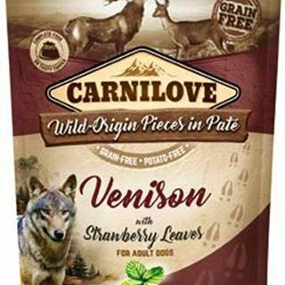 Carnilove Dog Pouch Paté Venison & Strawberry 300g