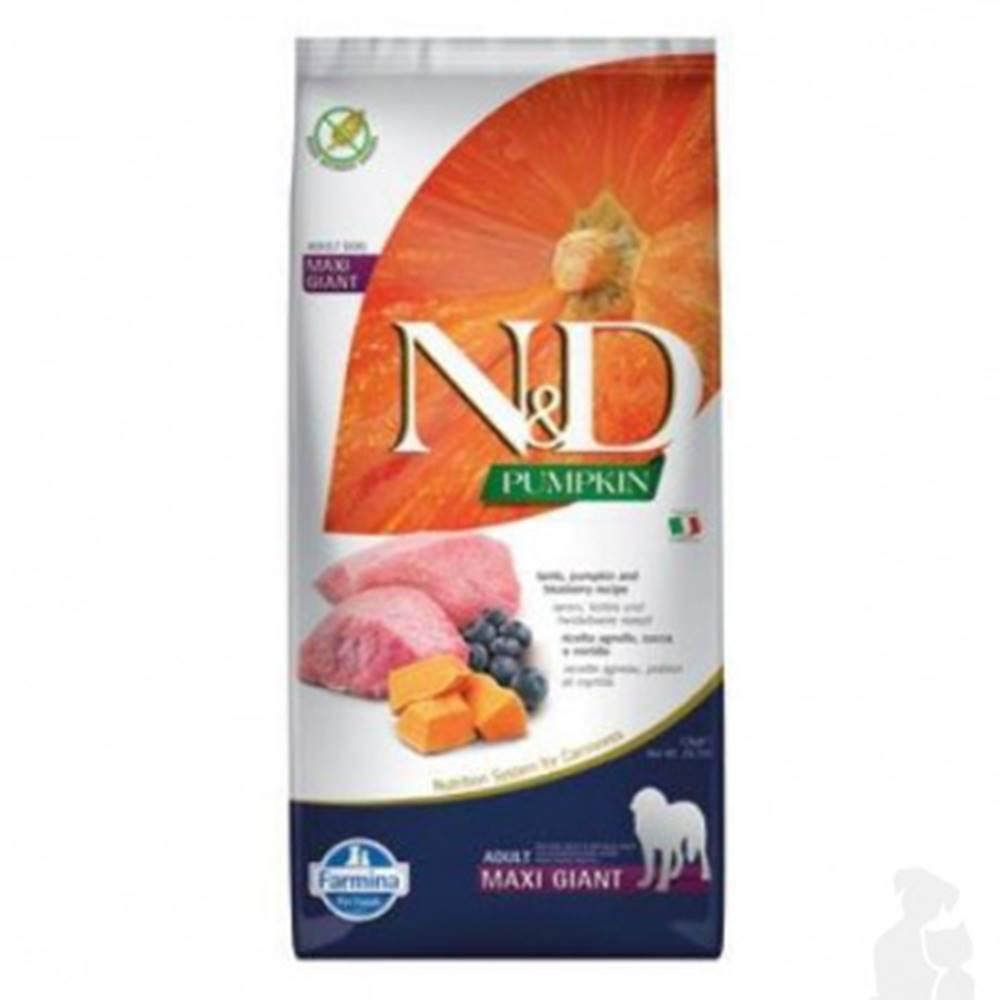 N&D (Farmina Pet Foods) N&D Pumpkin DOG Adult Giant Lamb & Blueberry 12kg
