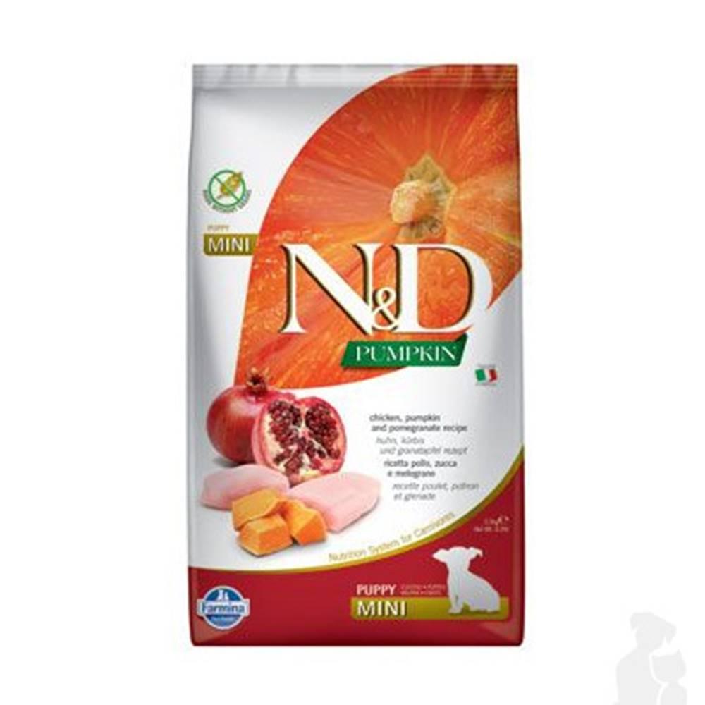 N&D (Farmina Pet Foods) N&D Pumpkin DOG Puppy Mini Chicken & Pomegranate 2,5kg