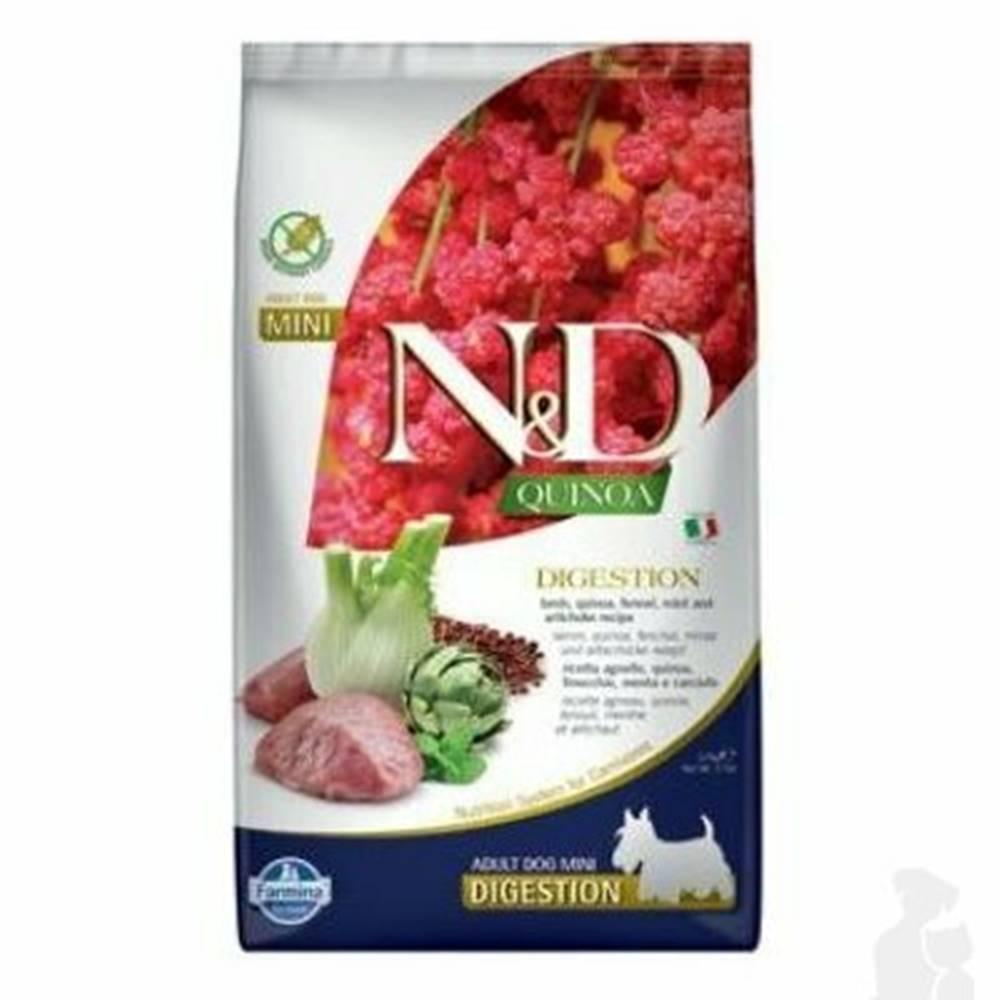N&D (Farmina Pet Foods) N&D Quinoa DOG Digestion Lamb & Fennel Mini 2,5kg