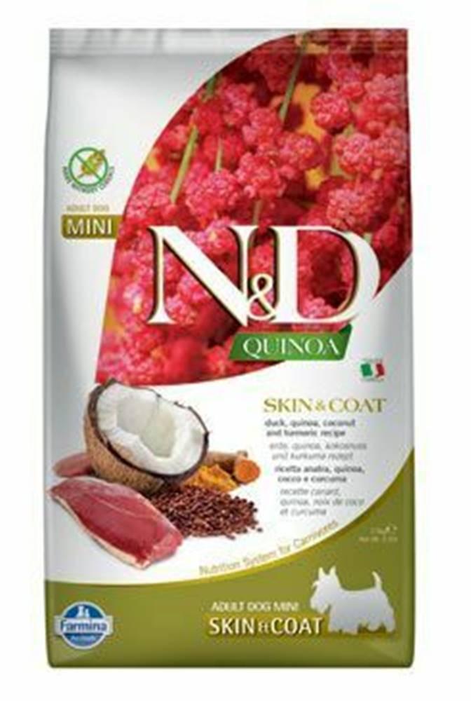 N&D (Farmina Pet Foods) N&D Quinoa DOG Skin & Coat Duck & Coconut Mini 2,5kg