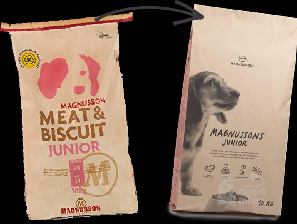 Magnusson Magnusson Meat&Biscuit Junior  4,5kg