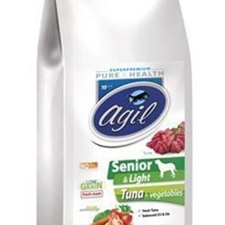 Agil Senior&Light Low Grain,Tuna,Lamb,Chicken 10kg