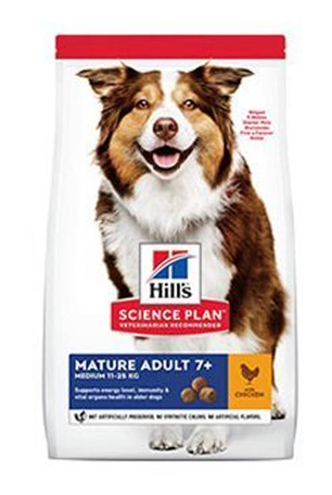 Hill's Hill's Can.Dry SP Mature Adult 7+ Medium Chicken 2,5kg