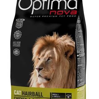 OPTIMAnova  cat   HAIRBALL chicken/rice - 2kg