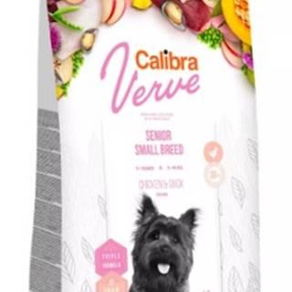 CALIBRA dog  VERVE GF senior   SMALL chicken/duck - 1,2kg