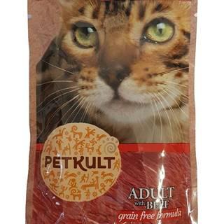 PETKULT  cat kapsa HOVĚZÍ (beef) - 100g