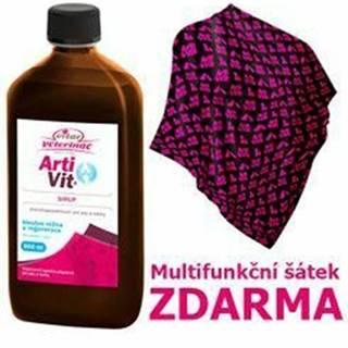 VITAR Veterinae ArtiVit Sirup 500ml + multifunkčná šatka