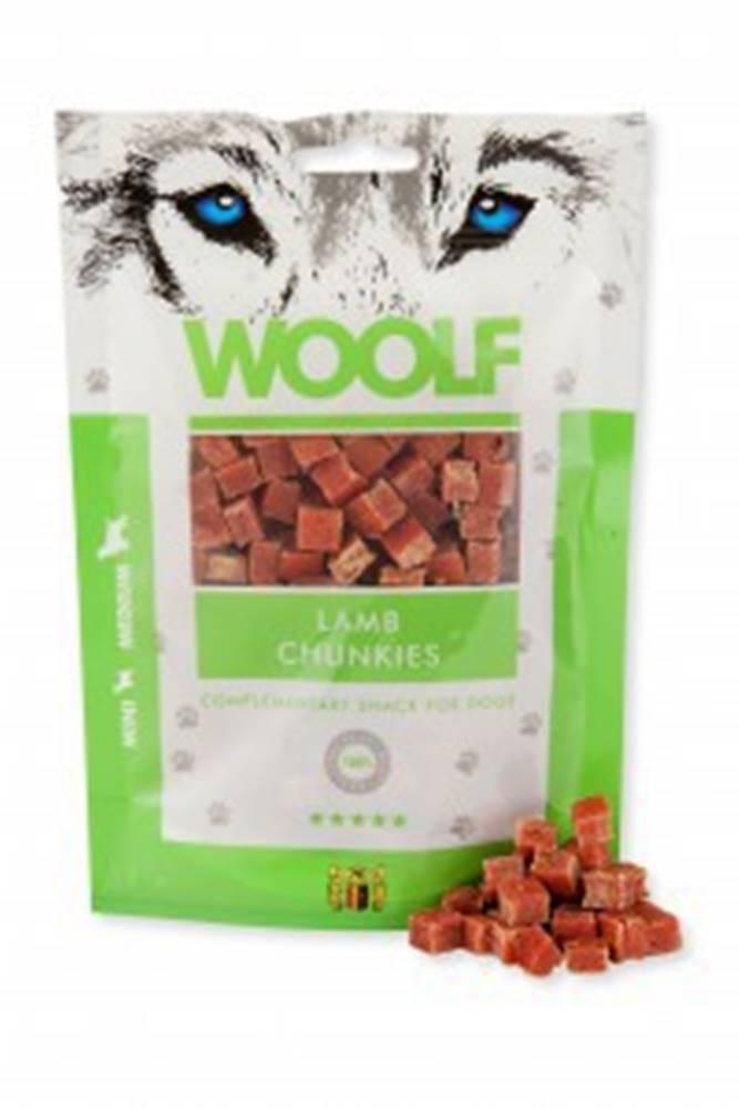 Woolf WOOLF pochoutka lamb chunkies 100g