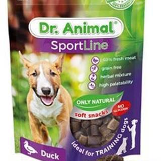 Pochoutka Dr. Animal Sportline kachna 100g
