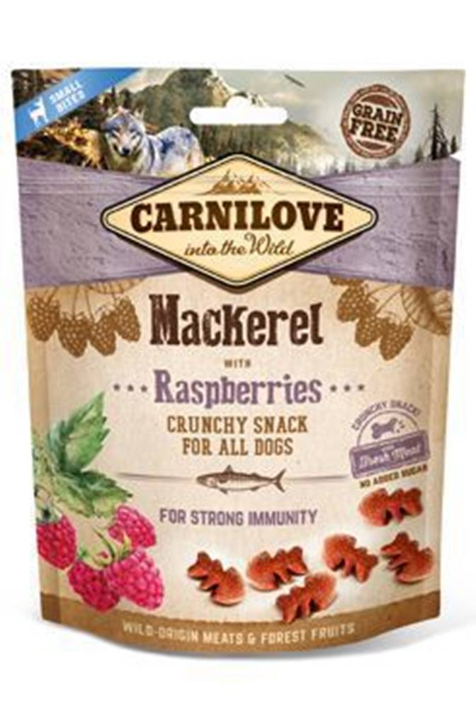 Carnilove Carnilove Dog Crunchy Snack Mackerel&Raspberries 200g