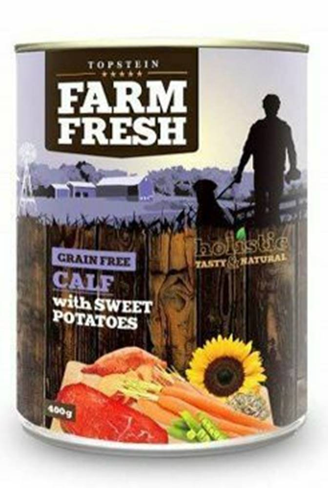 Farm Fresh Farm Fresh Dog Calf with Sweet Potatoes konzerva 400g
