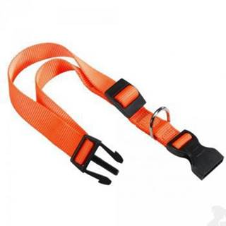 Obojek nylon CLUB C 44cmx15mm oranžový FP 1ks