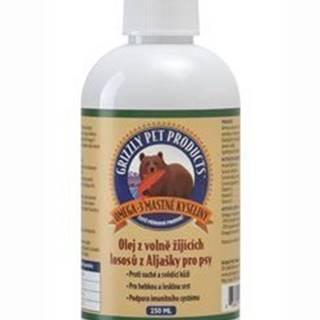 Lososový olej pre psy Grizzly Wild Salmon 250ml SK