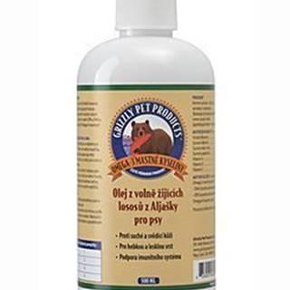 Lososový olej pre psy Grizzly Wild Salmon 500ml SK